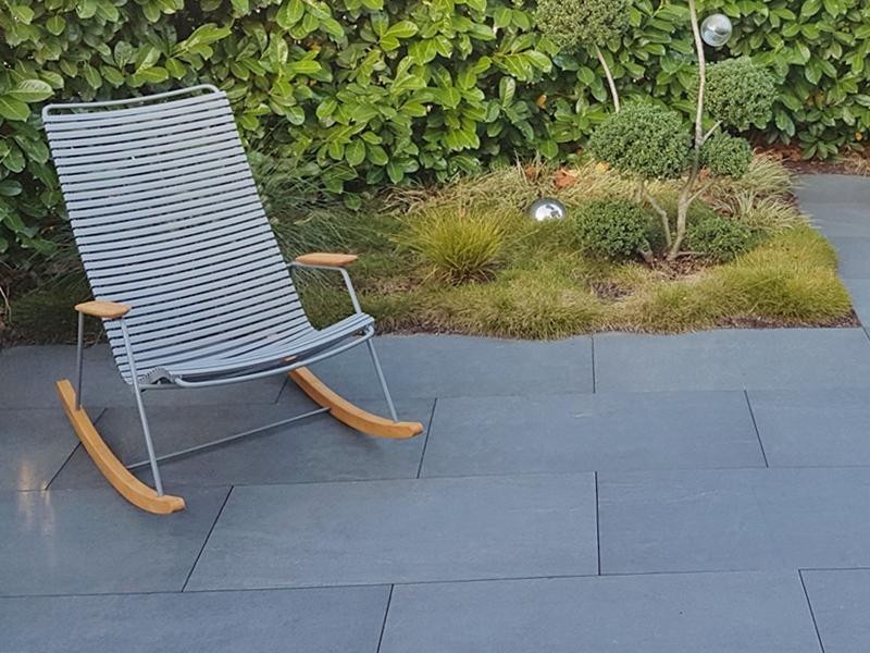 Granit Natursteinplatten Terrasse